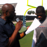 Andre Johnson, back in camp following a minor injury, gives J Mac the scoop on what to expect from Houston's top wide receiver this season.